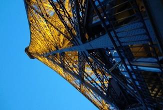 paris lights eiffel tower