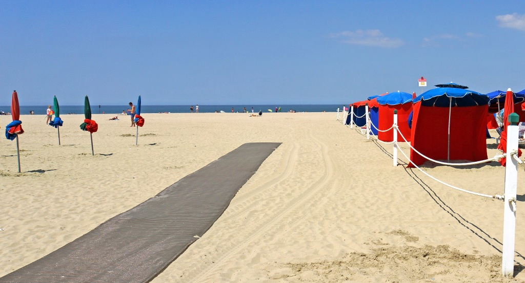 beach at deauville