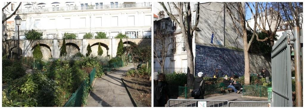 Paris wall of love montmartre