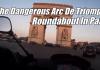 arc de triomphe roundabout paris