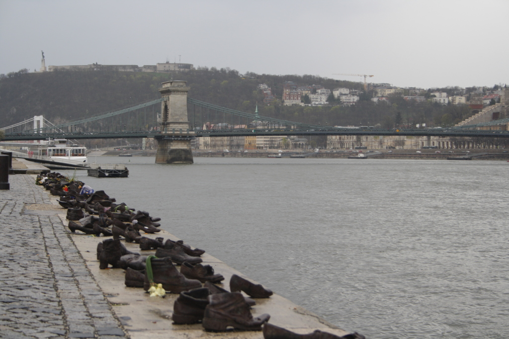 Shoes On The Danube Banks budapest