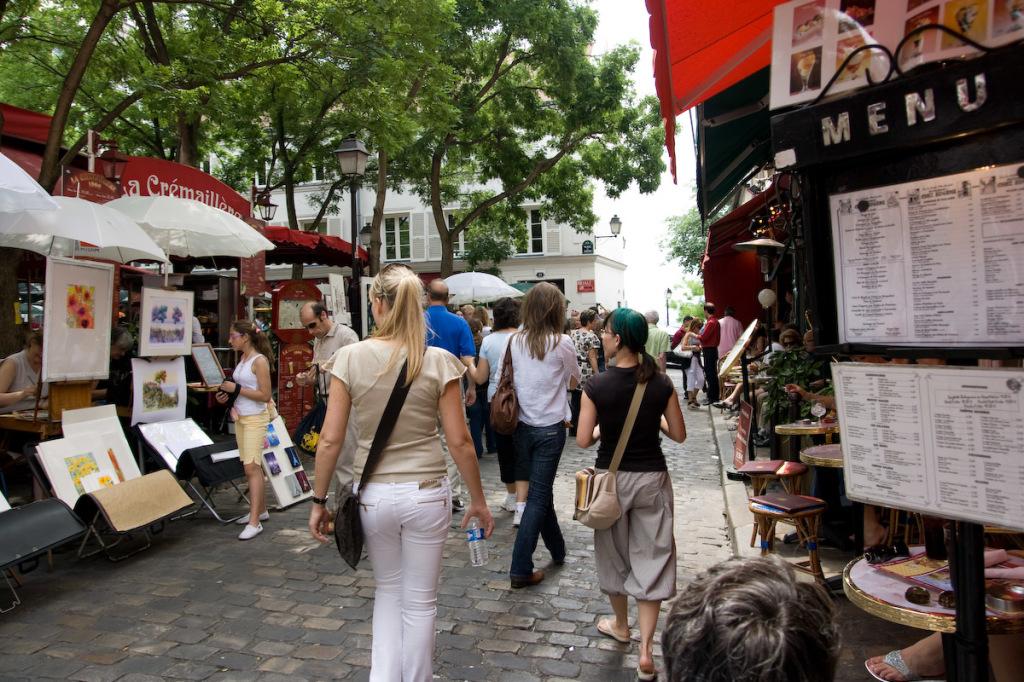 artist square Place du Tertre