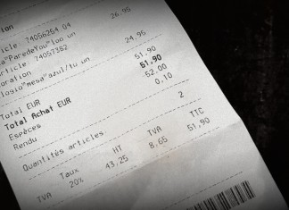 TVA refund recipt