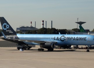 La Compagnie business class airline